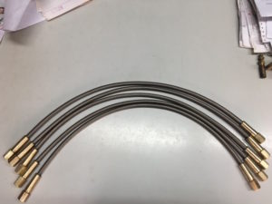 Flexall Teflon Hose - Top View